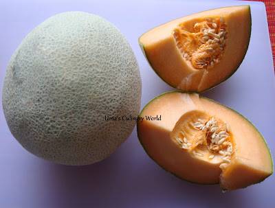 Muskmelon or Cantaloupe