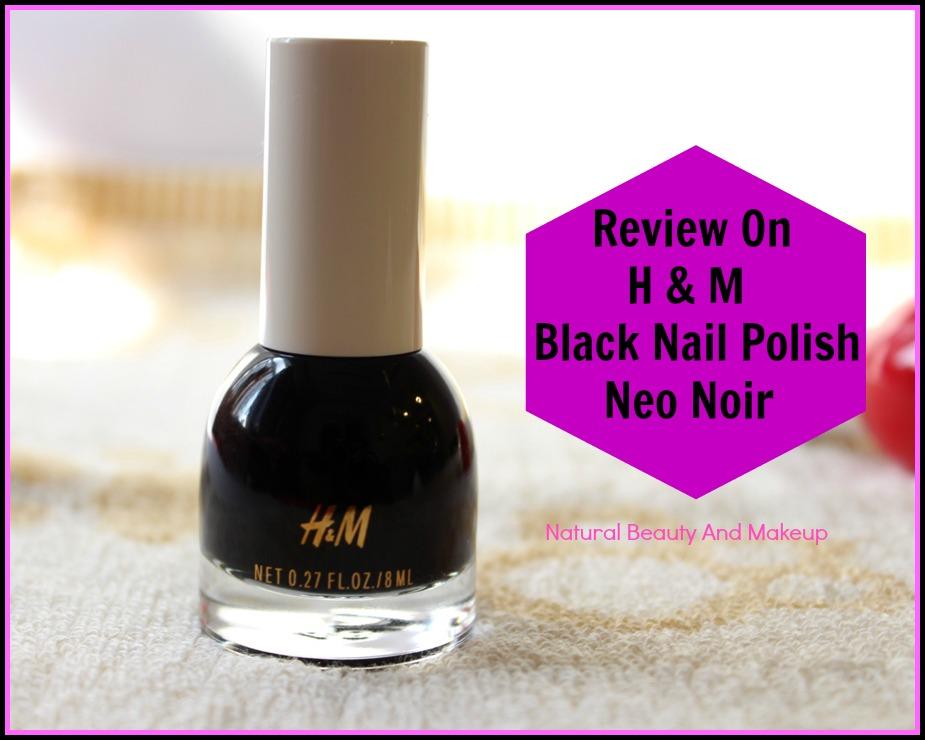 Natural Beauty And Makeup : H&M Black Nail Polish- NEO NOIR ...