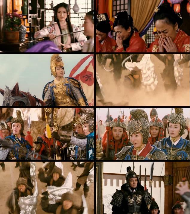 Legendary Amazons 2011 UNCUT Dual Audio Hindi 720p BluRay