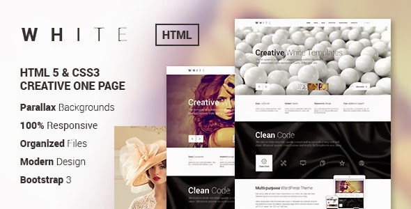Bootstrap One Page HTML Theme