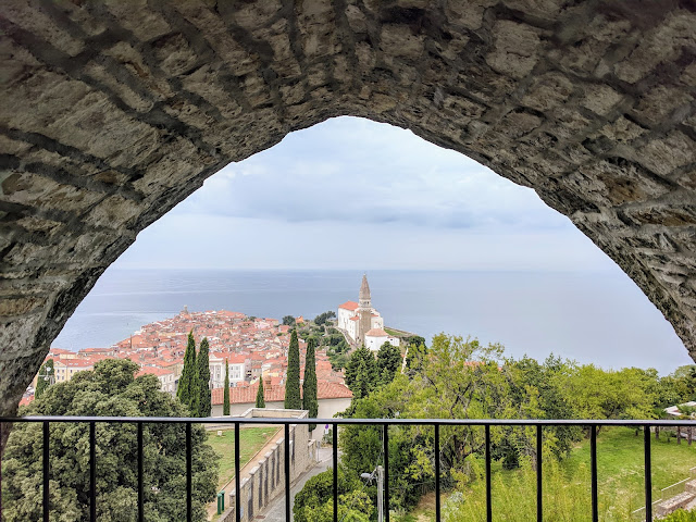 Views from the walls of Piran