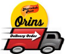 Logo delivery order martabak orins