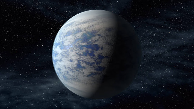 Discovery Of A Neighboring Super-Earth In A Neighboring Star System