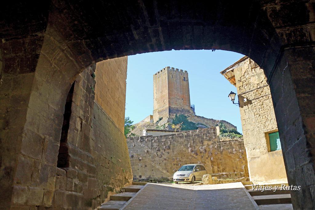 Castillo de Uncastillo, Zaragoza