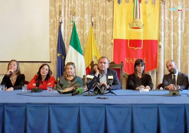 L'ultima giunta presentata dal sindaco De Magistris