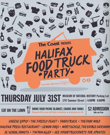 Food Trucks Halifax Museum Of Natural History
