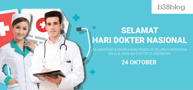 Kartu Ucapan Hari Dokter Nasional