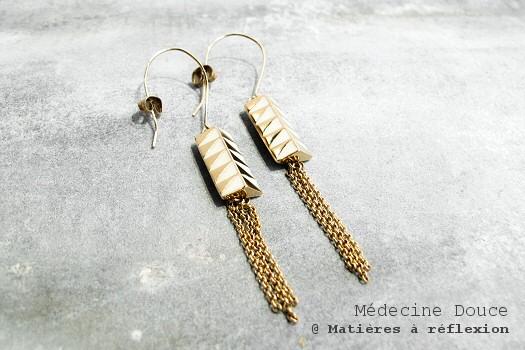 Boucles d'oreilles Legend Médecine Douce
