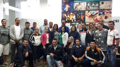 Técnicos da Secretaria de Esportes de Registro-SP participam de curso em Santos