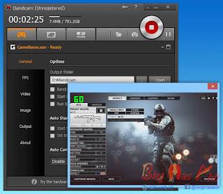 BandiCam, Aplikasi untuk Record dan Screenshot Game di PC
