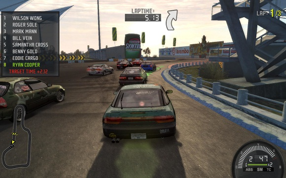 Need for Speed ProStreet PC Full Version Screenshot 1