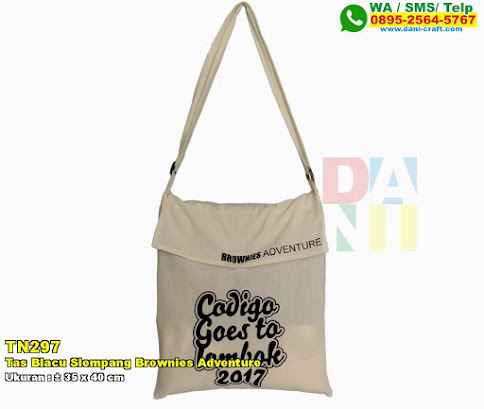 Tas Blacu Slempang Brownies Adventure