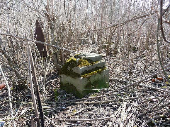 Закрытое и заброшенное кладбище