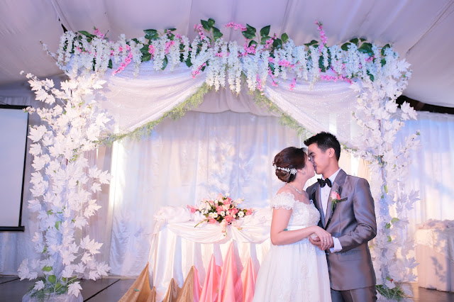 affordable wedding package cebu - wedding backdrop