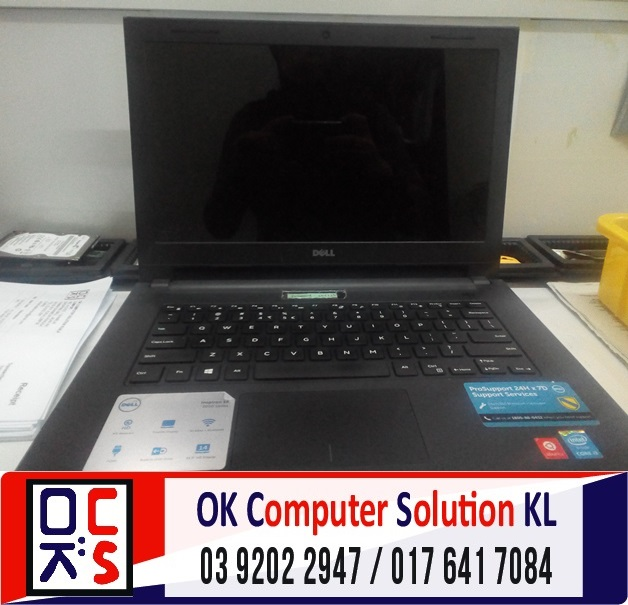 [SOLVED] DELL INSPIRON 14 TAK BOLEH ON | REPAIR LAPTOP CHERAS 1