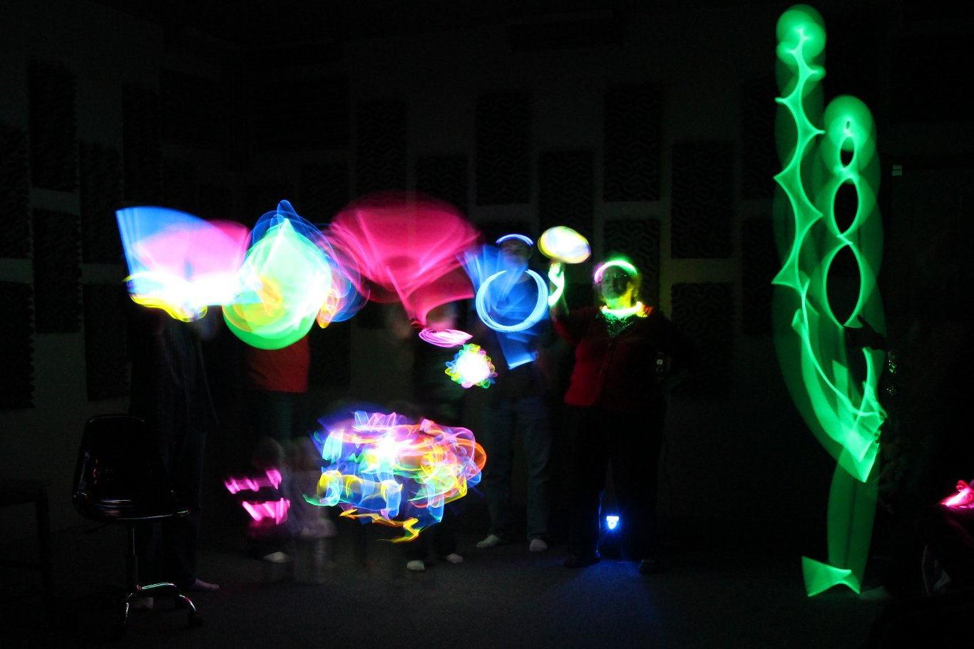 Completely Indie  Glow Stick Party