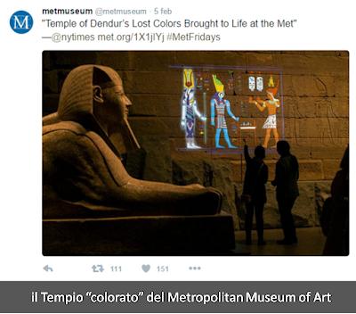 """il Tempio di Dendur """"colorato"""""""