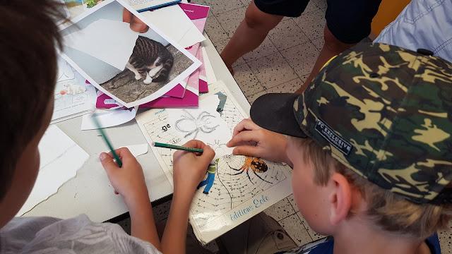 Ateliers pédagogiques Pencil Vs Camera animés par Ben Heine en milieu scolaire mettant en exergue la créativité et l'utilisation des nouvelles technologies - Ecole Communale d'Eprave - ASBL CulturArt - Fédération Wallonie Bruxelles