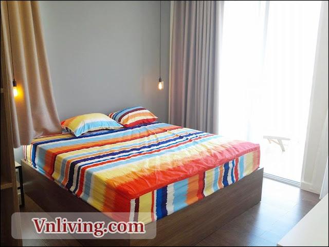 2 Bedrooms Tropic Garden apartment for rent high floor saigon river view