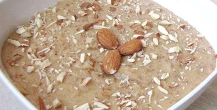 बदामाचा हलवा - पाककला | Badamacha Halwa - Recipe