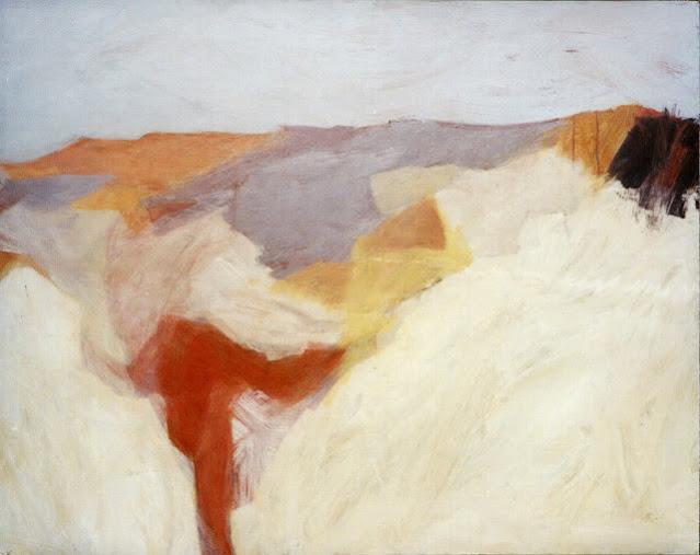 Interior Landscape - Abstract Painting - Rosemary Marchetta