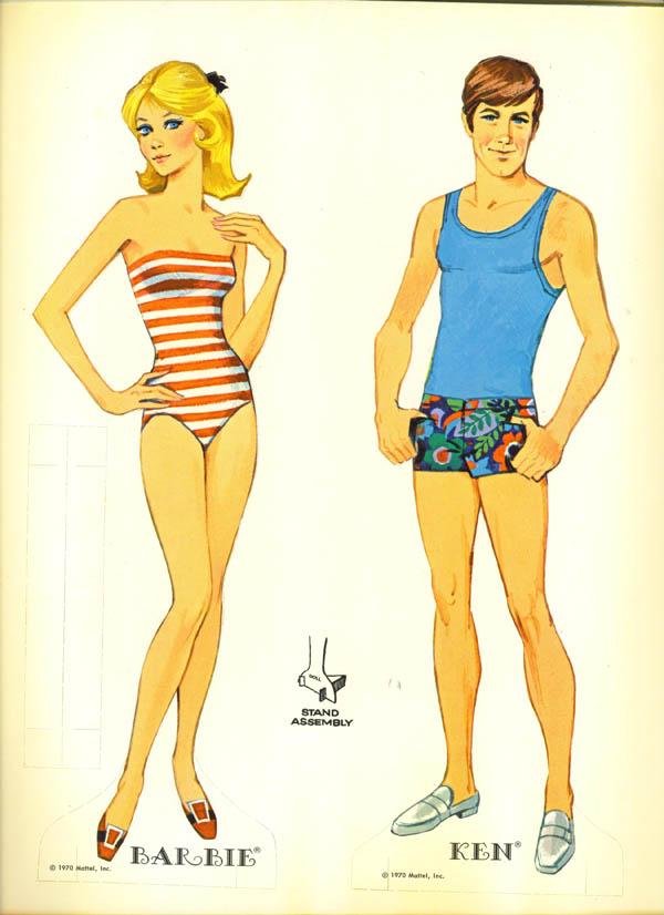 Ken-Cut Barbie