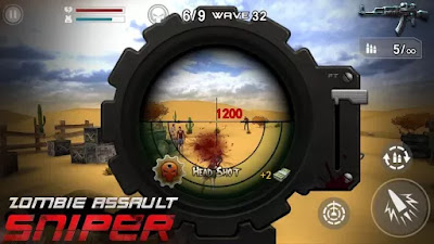 Download Zombie Assault Sniper v1.2.4 Mod Apk Free Shopping