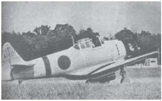 "Pesawat Mitsubushi ""Hayyabusha"" (""Zero"") merupakan pesawat termodern milik Jepang pada awal perang Pasifik."