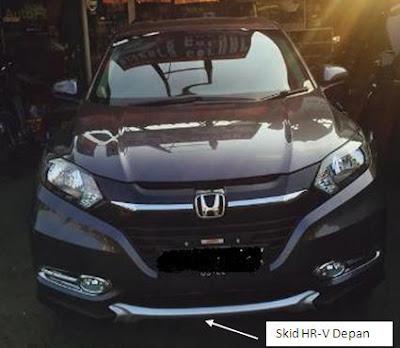 Aksesoris Honda HR-V - Skid HR-V Modulo Style