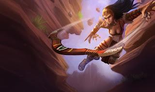 Huntress Sivir Skin