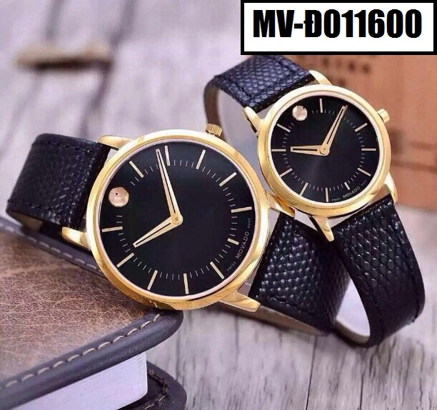 Đồng hồ dây da Movado D011600