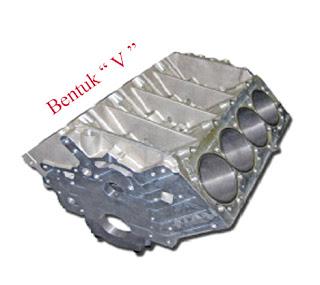Fungsi Dan Bentuk Komponen Block Cylinder Pada Mesin