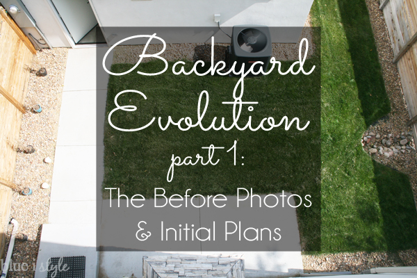 outdoor style} Backyard Evolution Part 1 - The Before Photos ... on