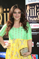 Sridevi Telugu Actressi in green Yellow Anarkali Dress at IIFA Utsavam Awards 040.JPG