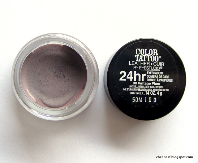 Maybelline Color Tattoo in Vintage Plum