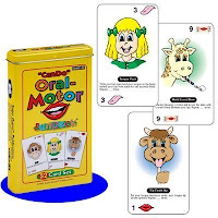 Can Do Oral Motor Fun Deck cards