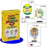 Can Do Oral Motor Fun Deck cards