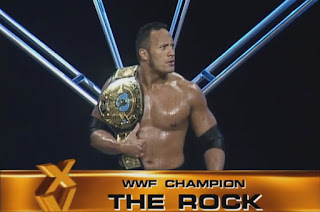 WWE / WWF Wrestlemania 15: WWF Champion The Rock faced Stone Cold Steve Austin in the main event