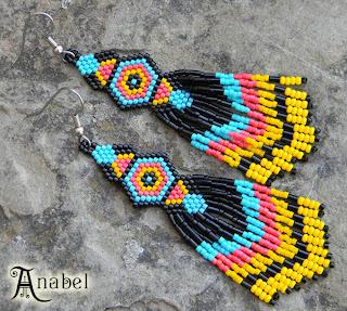 купить этнические украшения ручной работы из бисера