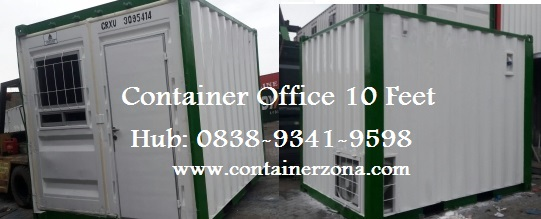 Harga Sewa Container Office di Jakarta