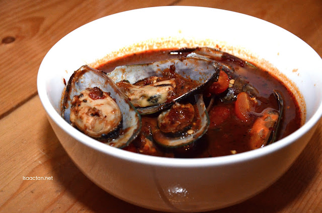 Chilli Mussels (RM 30)