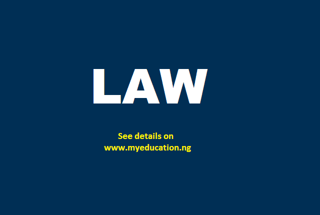 LIST: Approved Faculties of Law in Nigeria Universities