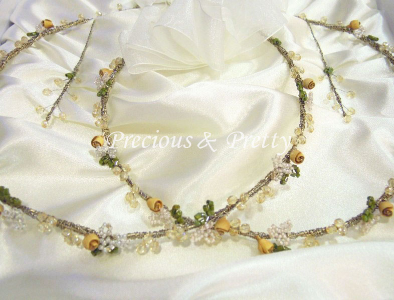 Stefana wedding crowns made in Greece