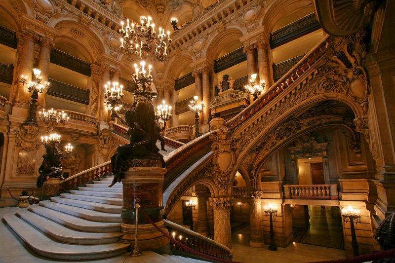 Gran Escalera de la Ópera Garnier