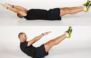 Cara Membentuk Perut Sixpack dengan Latihan Sit Up V