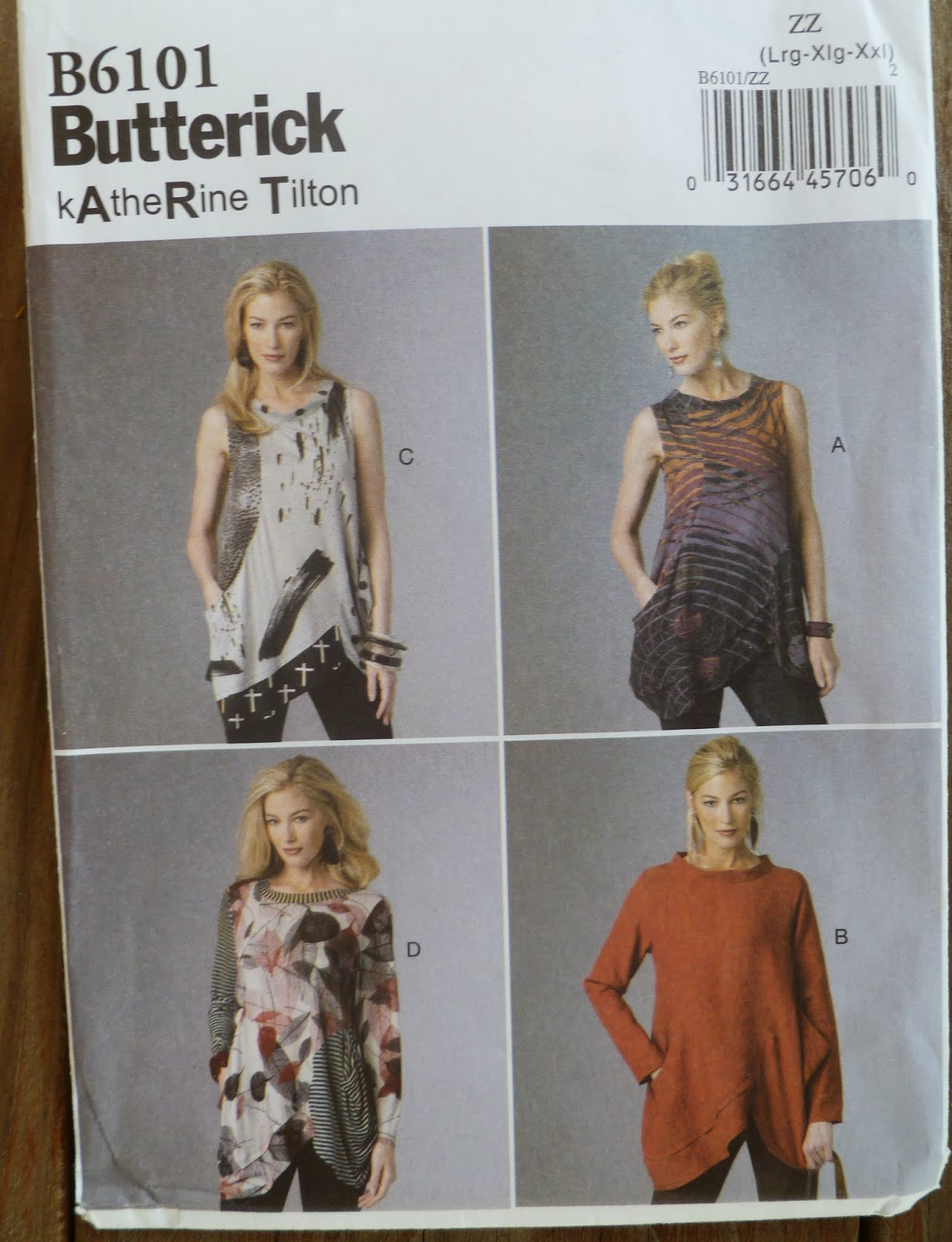 Deconstruct, Alter and Create: ORIGAMI top from Butterick - photo#42