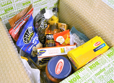 Degustabox is a food subscription box that includes a wide variety of foods and beverages - pantry items, snacks, sweets, soda, and tea!