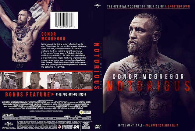 Conor McGregor: Notorious DVD Cover