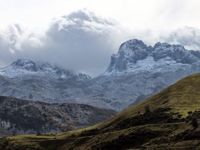 Picos de Europa desde Covadonga