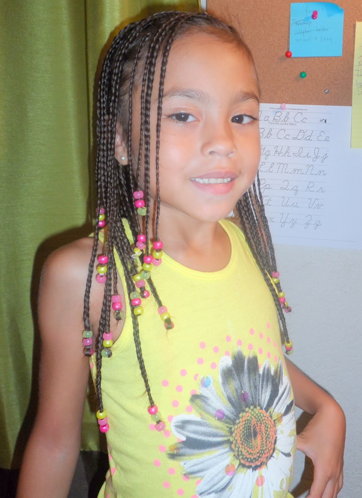 Life's Perception & Inspiration: Braided Hair with Beads